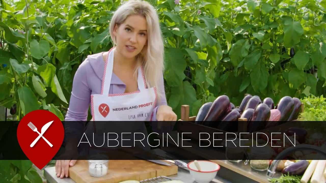Aubergine bereiden | Lisa van Cuijk