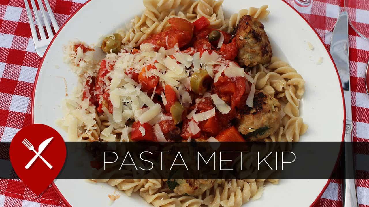 pasta met kip