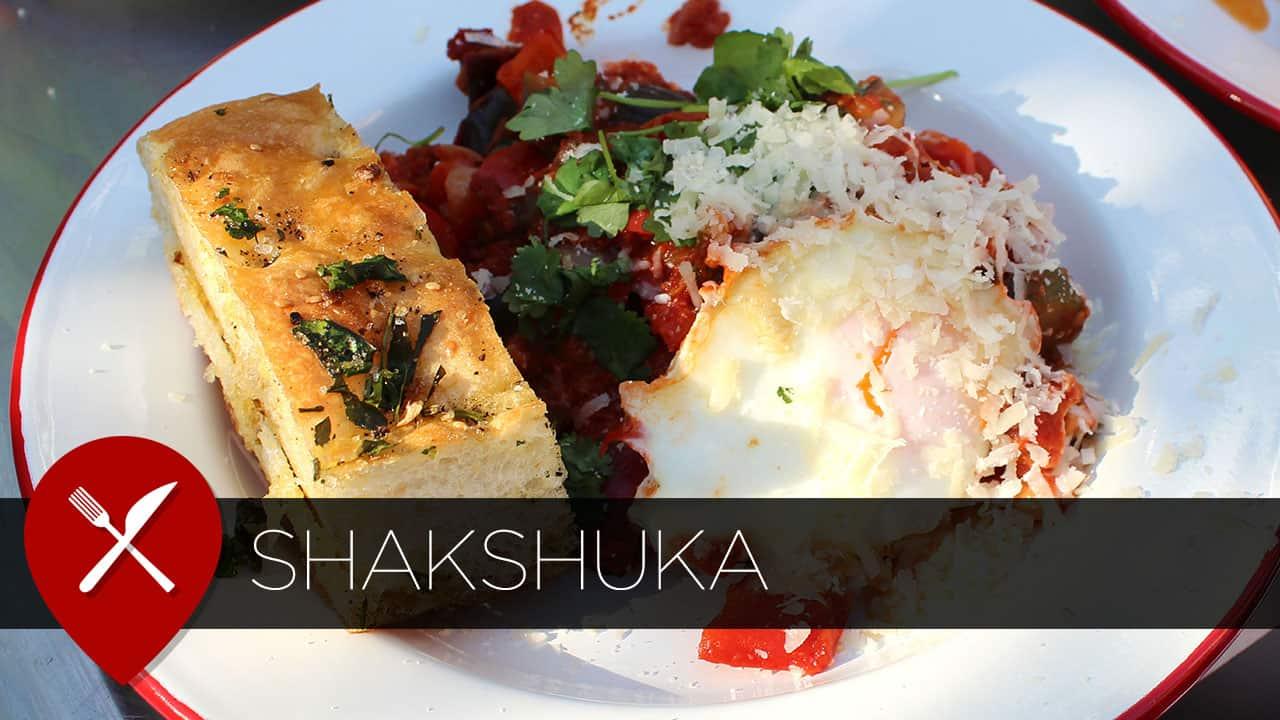 Recept: shakshuka met Turks brood
