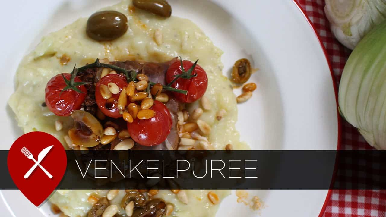 Recept: kabeljauw met venkelpuree en pesto