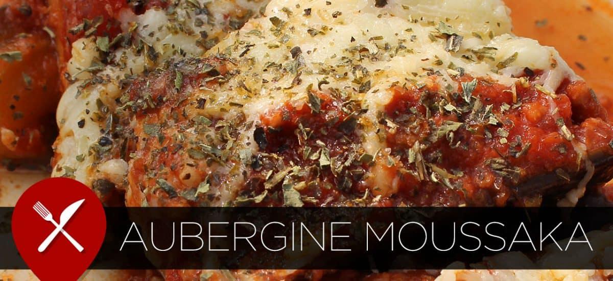 Recept: moussaka met aubergine