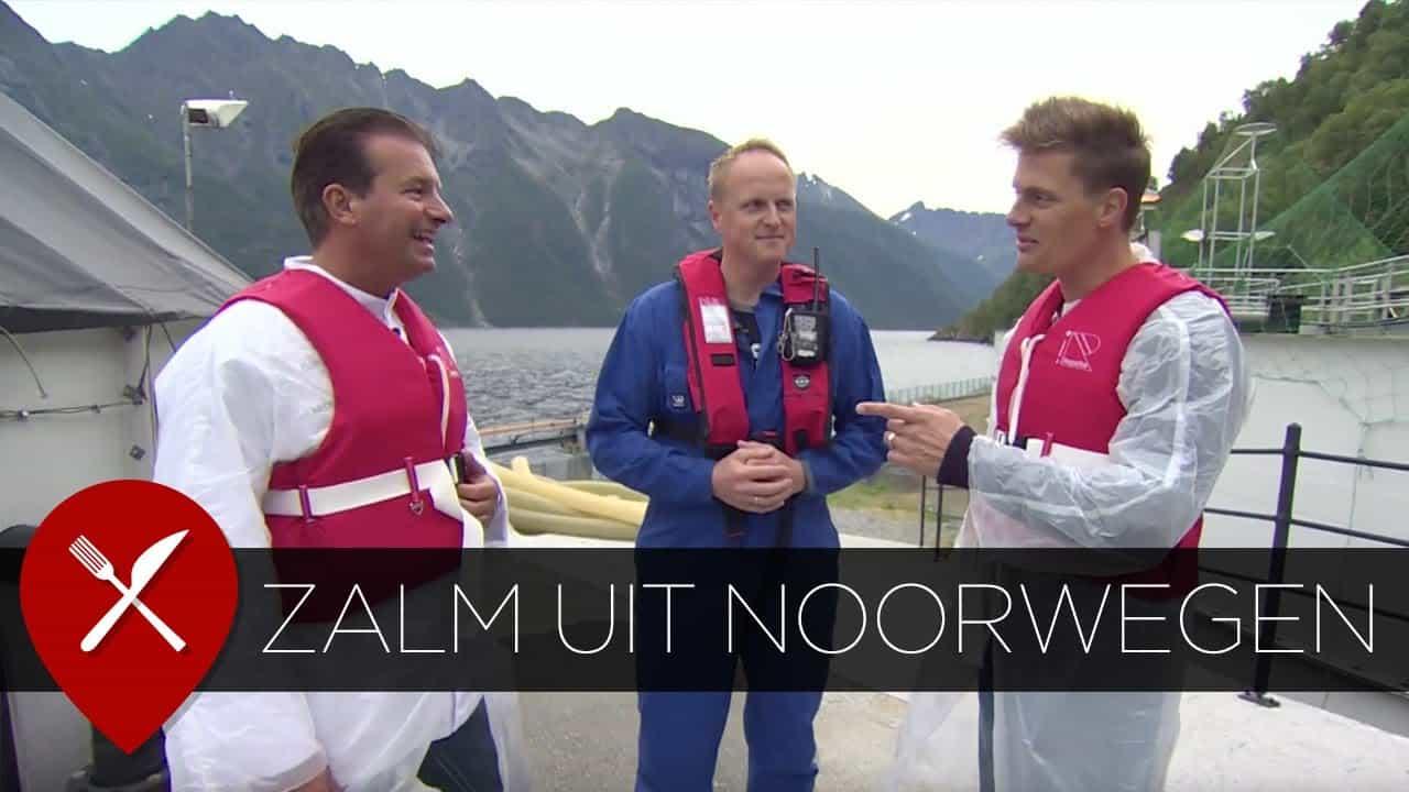 Zalm kweken in Noorwegen met Foppen