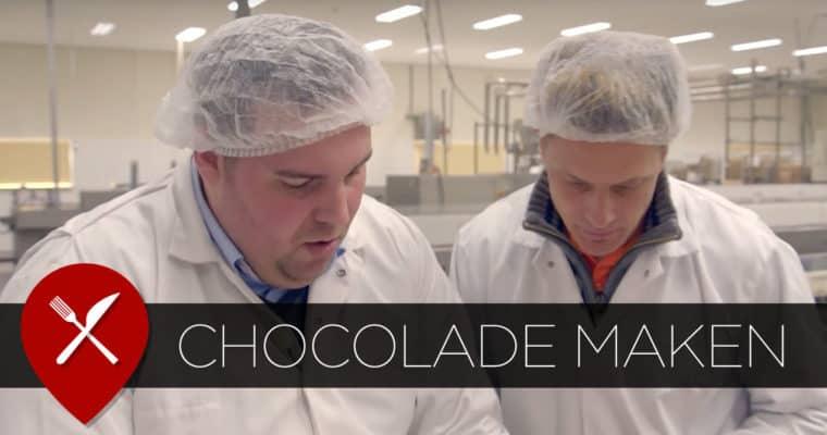 Chocolade reep maken