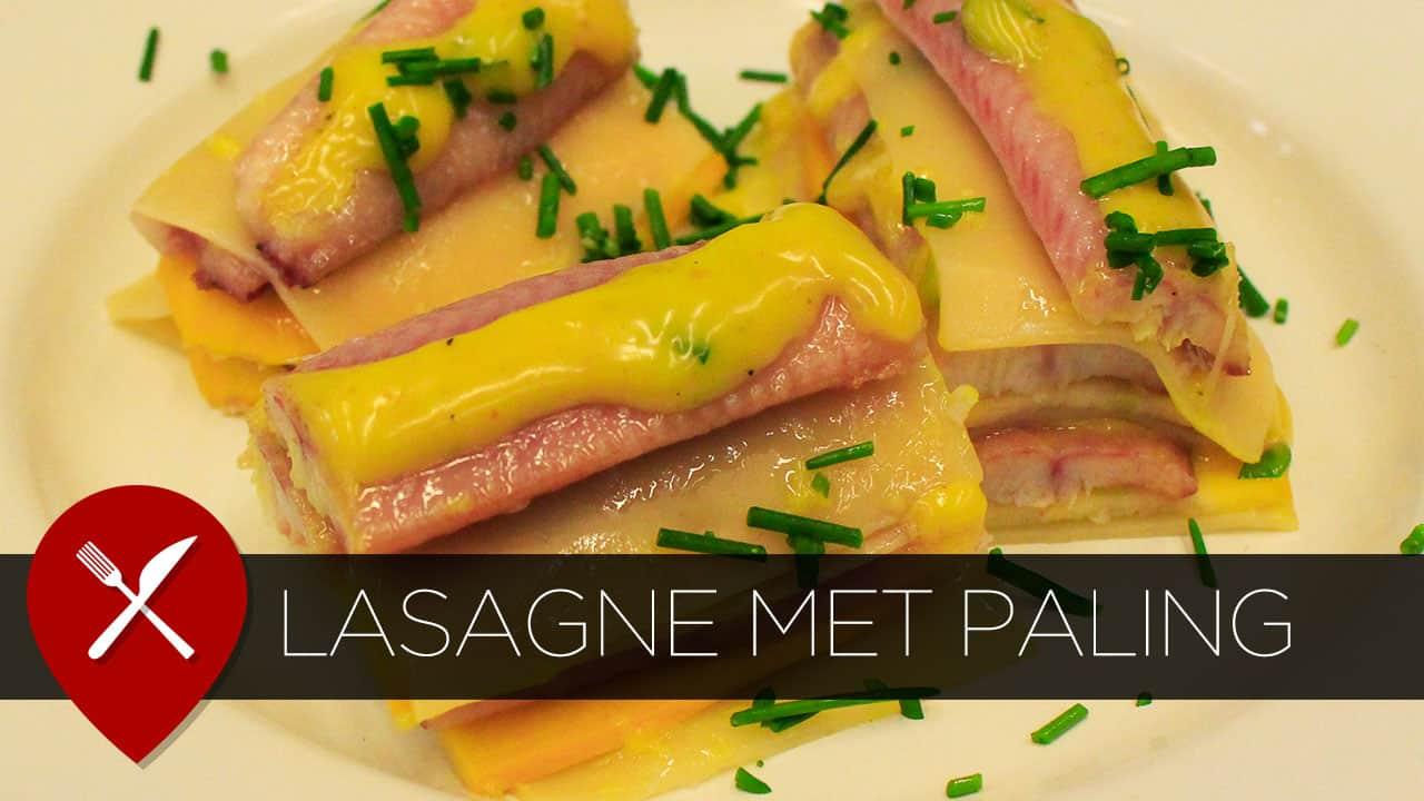 Recept: lasagne met paling, courgette en kerriesaus