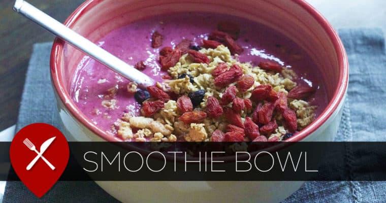 Gezonde smoothie bowl in 5 minuten!