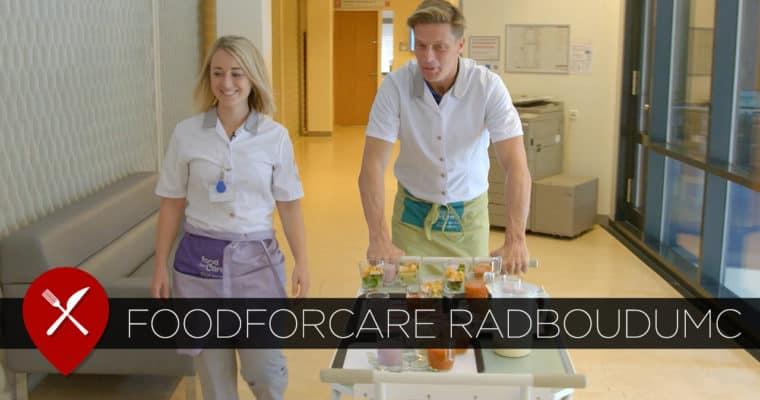 FoodforCare: zes keer per dag eten voor patiënten Radboudumc