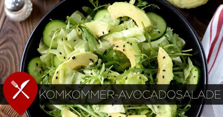 Komkommer-avocadosalade