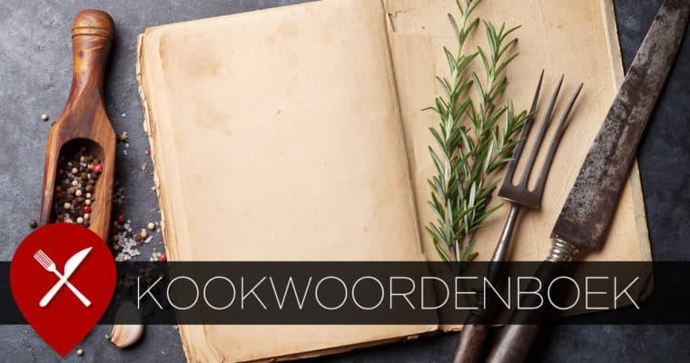 Het kookwoordenboek