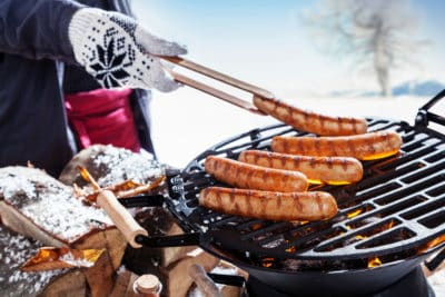 Winter barbecue organiseren