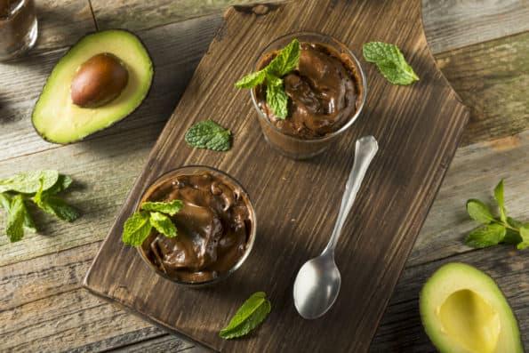 chocolade mousse avocado